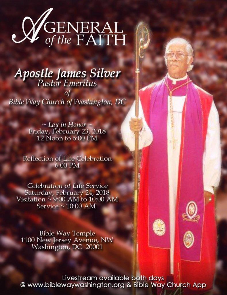 Apostle James Silver Homegoing