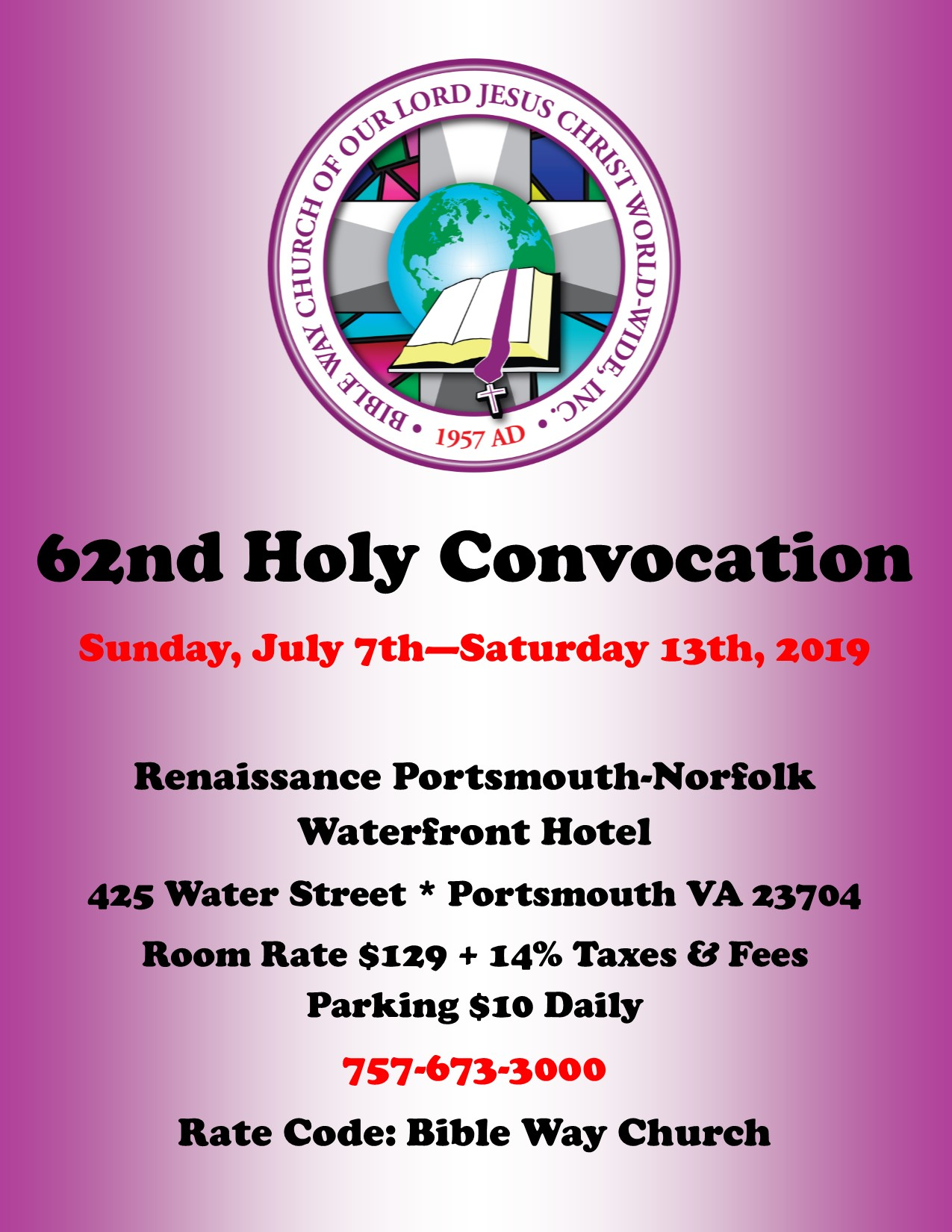 62nd Holy Convocation_Flyer