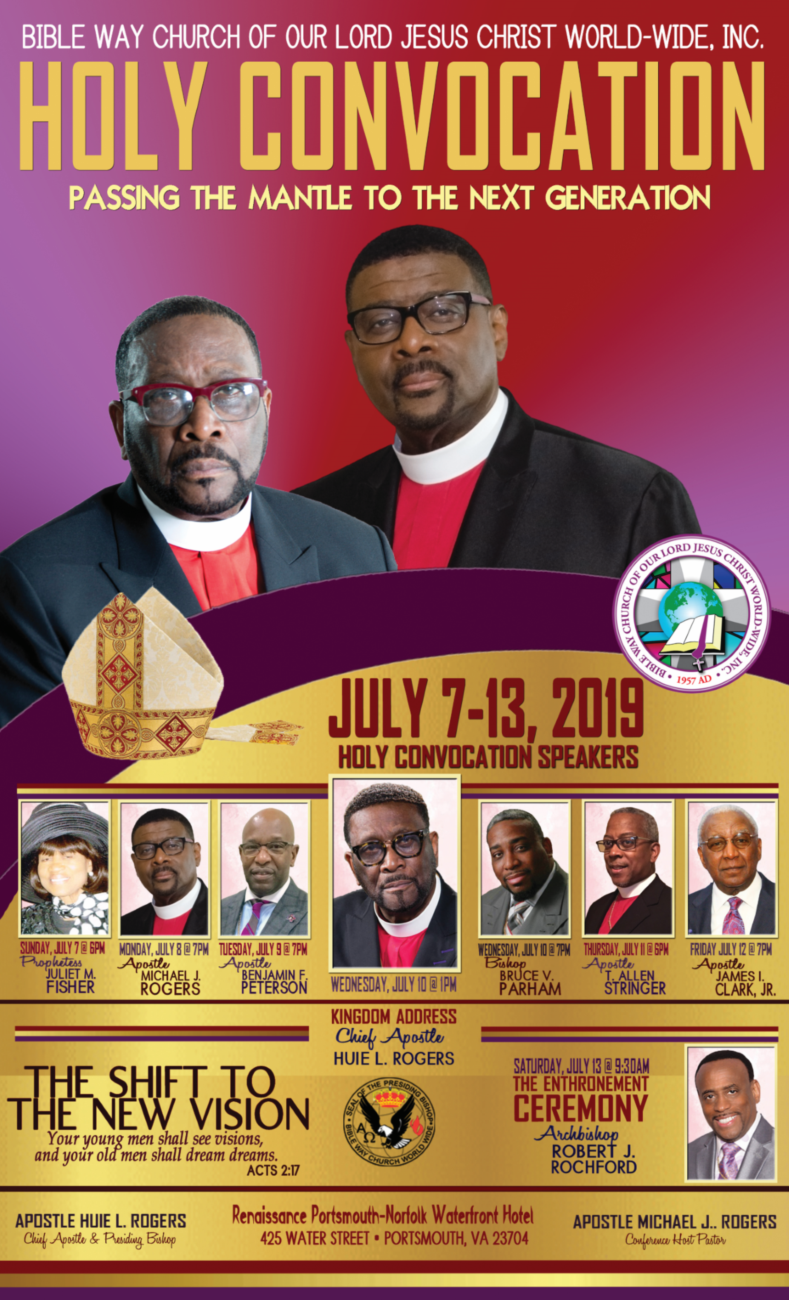 BWCWW 2019 Holy Convocation_Speakers